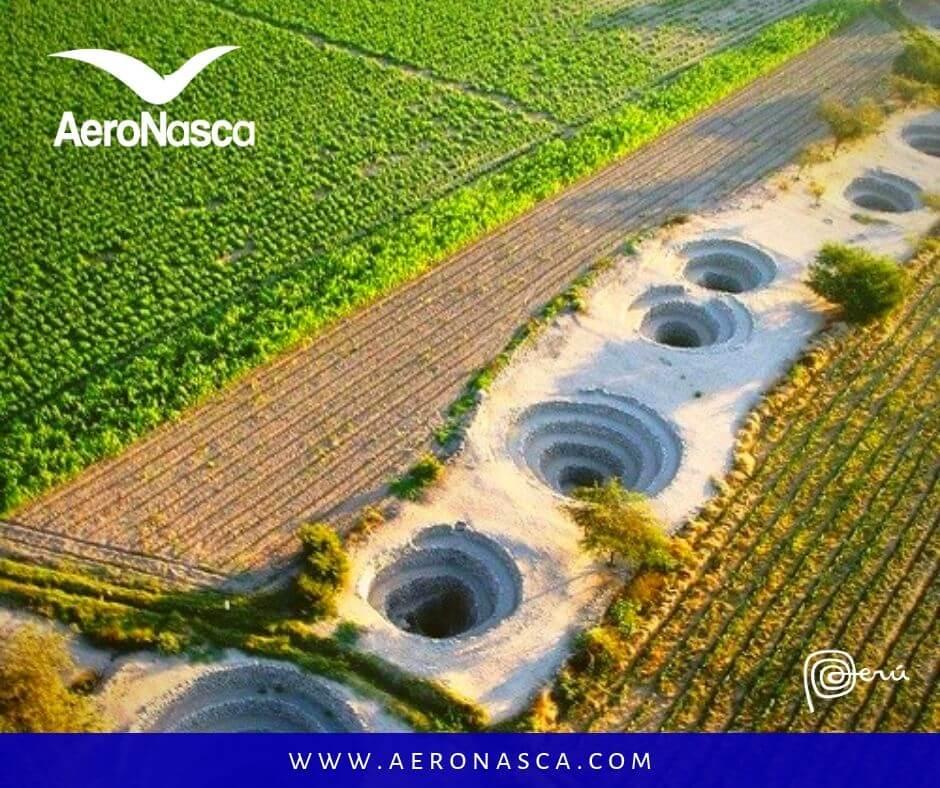 Turismo en Nazca: Acueductos de Cantalloc