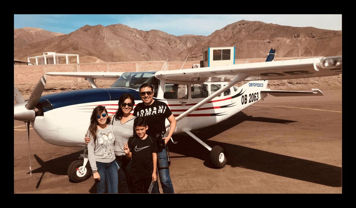 Survol Nazca et Palpa
