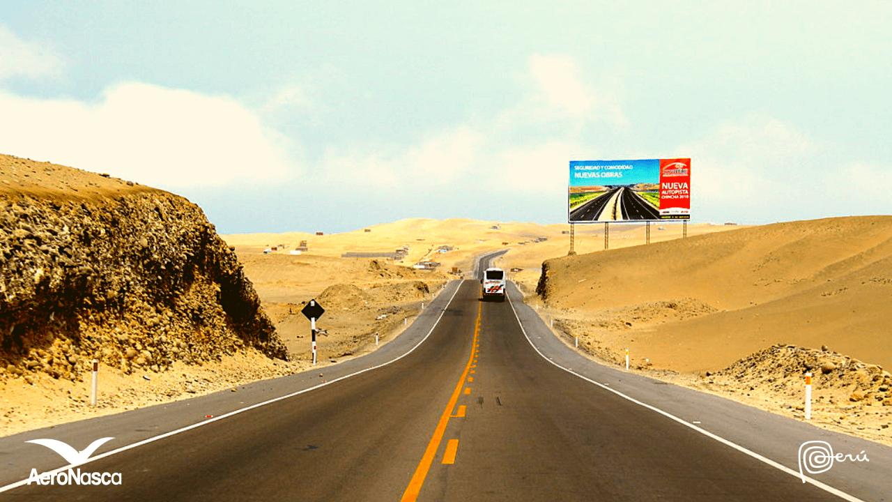Bus A Nazca Desde Lima