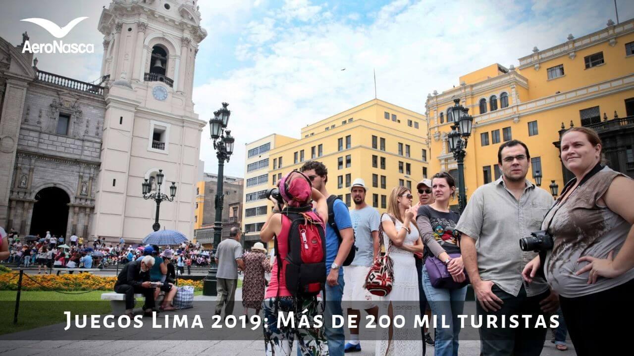 Juegos Panamericanos 2019: Más De 200 Mil Turistas En Perú 🥇