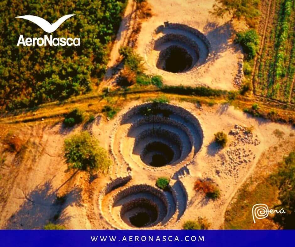 Vuelo Líneas de Nazca + Tour Acueductos de Cantalloc