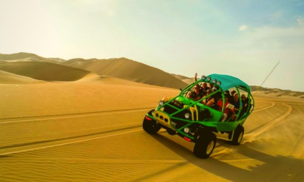 Tour Buggies and Sandboarding