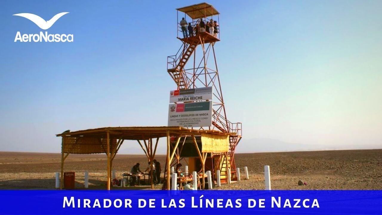 Mirador Metalico De Las Lineas De Nazca