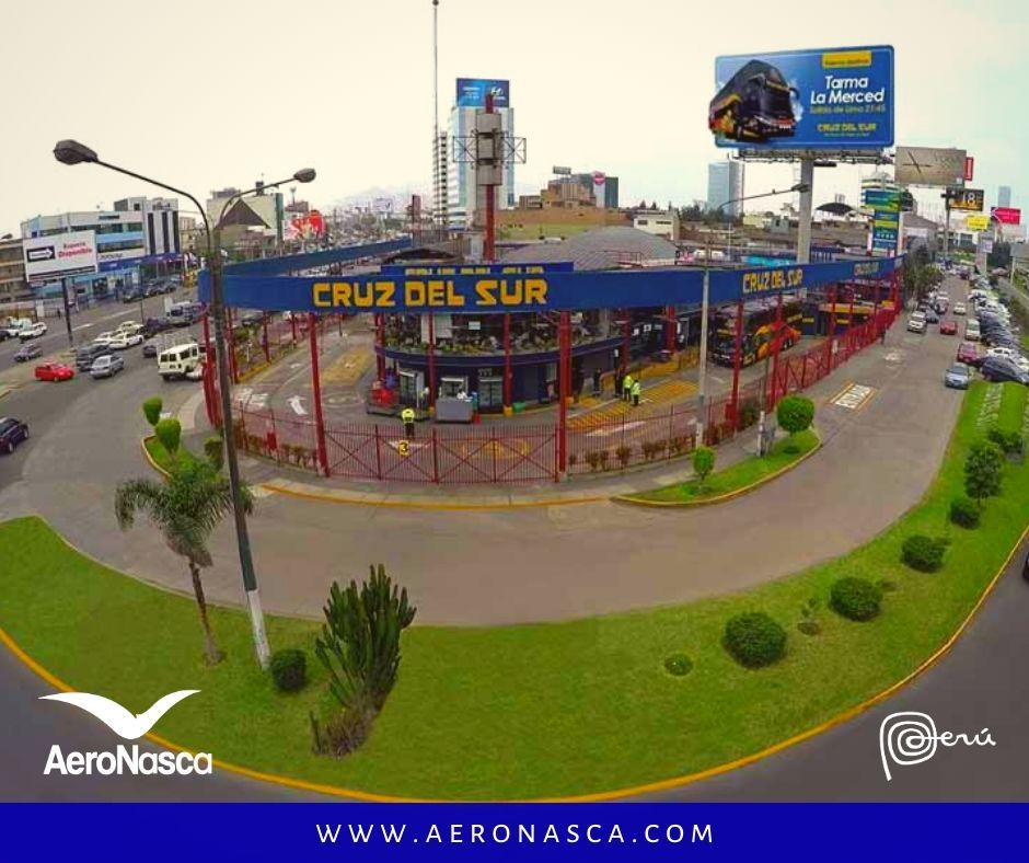 Terminal de Buses Cruz del Sur av Javier Prado Lima