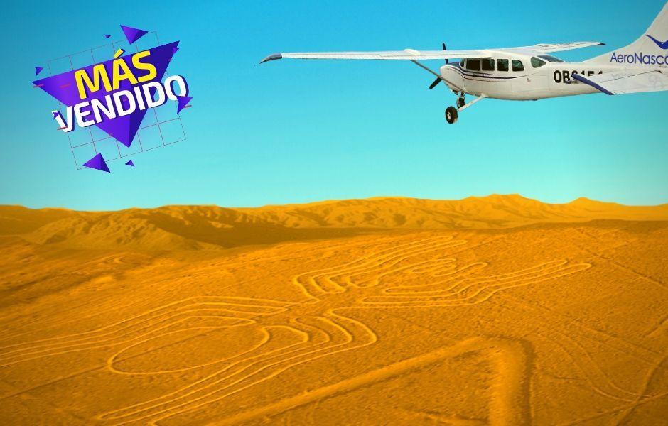 Sobrevuelo Lineas de Nazca - Aeronasca
