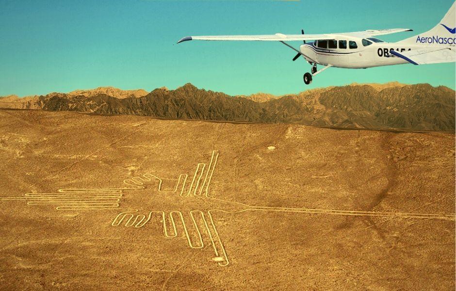 Sobrevuelo Lineas de Nazca y Palpa - AeroNasca