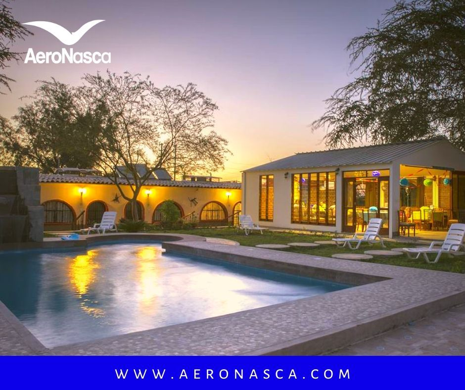 Nazca Lines Flight + Lodging
