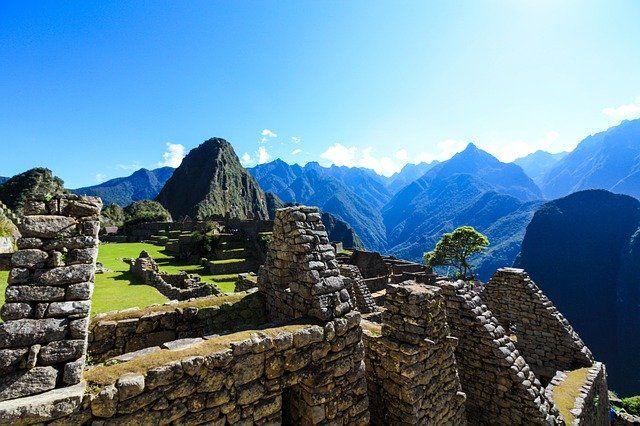 Paisaje de Machu Picchu
