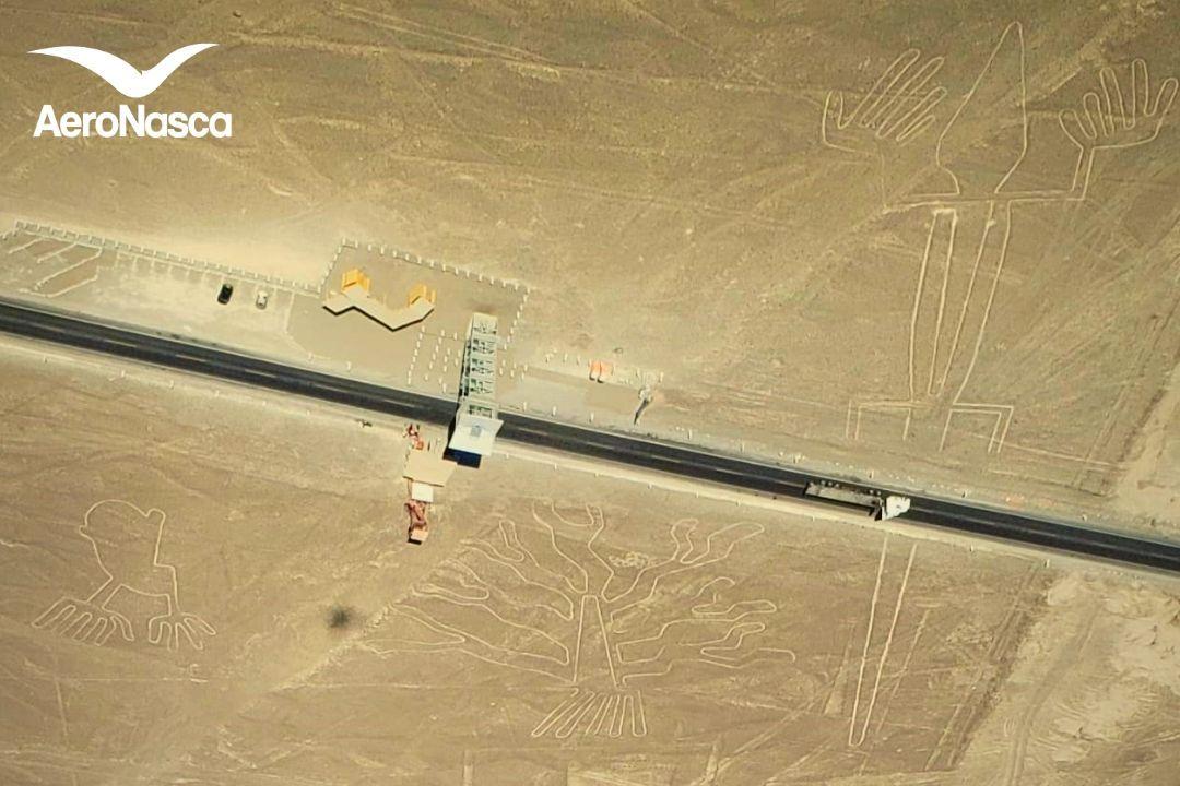 Las Manos, El Lagarto, El Arbol de las Lineas de Nazca