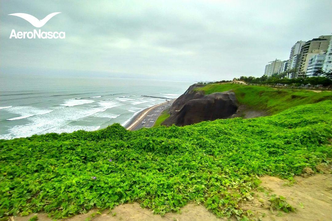 Norte de Lima desde el Parque Maria Reiche