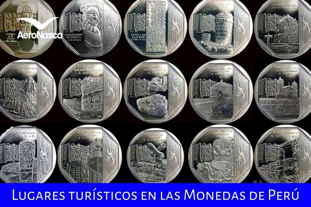 Lugares Turísticos En Las Monedas De Perú